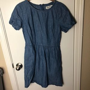 Madewell Chambray Dress